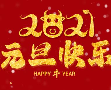 OA系统祝大家元旦快乐!