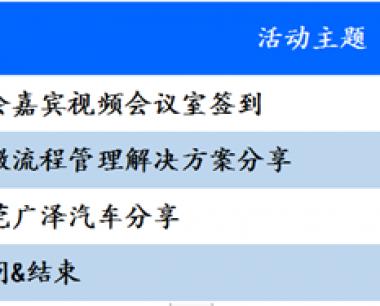 东莞广泽汽车OA数字化办公经验分享